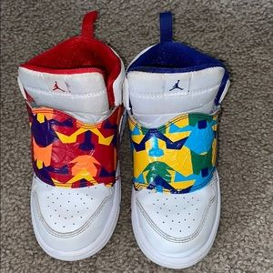 Toddler Air Jordan Sky mix n match.
